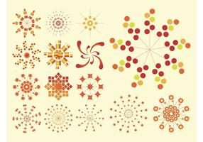 Abstract Vector Icons