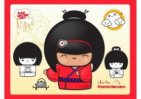 Geisha Dolls
