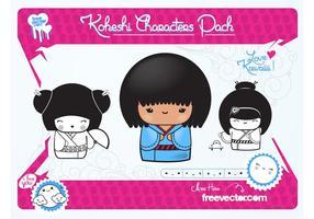Kawaii Vector Dolls