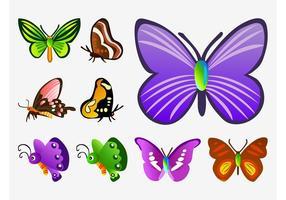 Butterfly Vector Cartoons