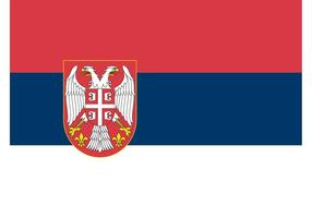 Serbian-flag-vector