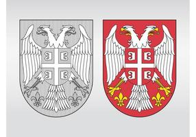 Serbien vapensköld