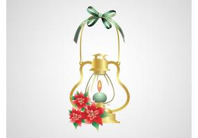 Christmas Lamp Vector
