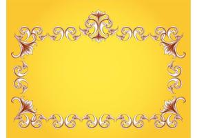 Flourishes Frame Vector