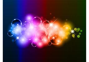 Fundo das bolhas do arco-íris