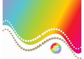 Fundo do vetor do arco-íris