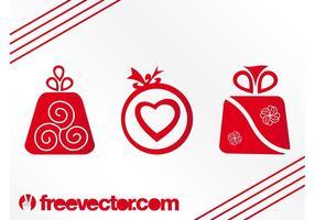 Vektor Weihnachtsgeschenke