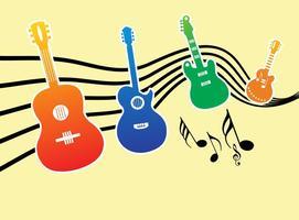 Gráficos vetoriais de música