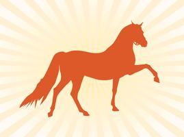 Vector Paard