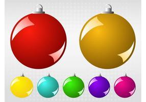 Vector Kerstballen