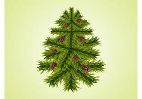 Gran träd vektor
