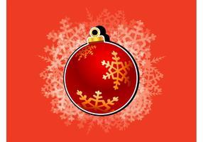 Vecteur de boule de Noël