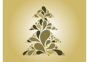 Árvore de Natal do vetor abstrato