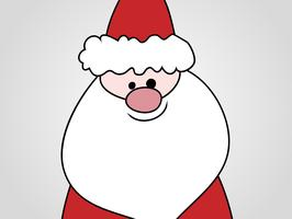 Santa Cartoon Vektor