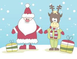 Vector Papai Noel