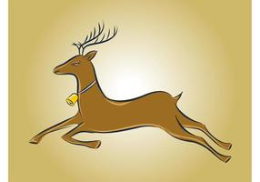 Running-deer-vector