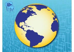 Globe des Amériques