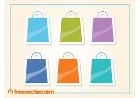 Iconos de las bolsas de la compra