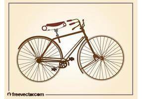 Bicicleta del vintage