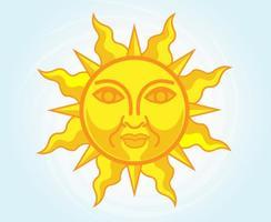 Stylized-sun