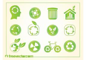 Recycling logo's
