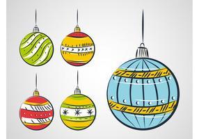 Christmas Balls Drawing