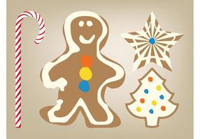 Christmas Cookies Vector