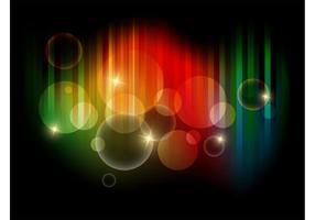 Colorful Bubbles Vector Art