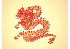 Dragon vector graphics