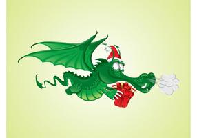 Christmas Dragon Graphics