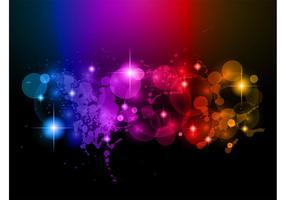 Arco iris brilla vector