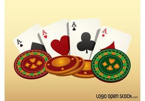 Glücksspiel-Vektor