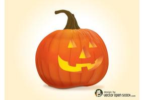 Vector Halloween Pumpkin
