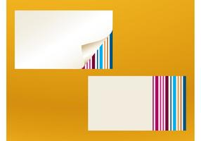 Modelos de cartões de visita Vector
