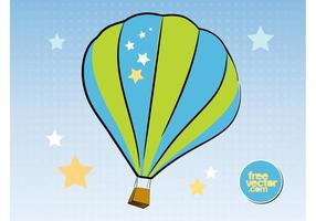 Luchtballon vector