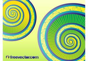 Vector de espirales
