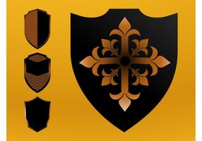 Vector Shields Set