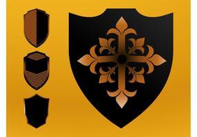 Vector Shields Set