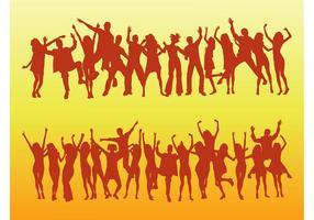 Dancing Vector Crowds