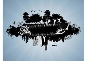 Grunge-urban-vector