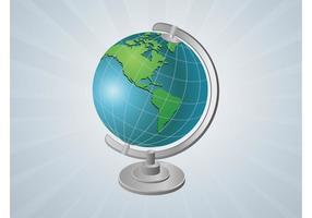 Vektor globe gadget