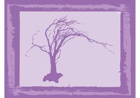 Gammal trädvektor