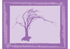 Alter Baum Vektor