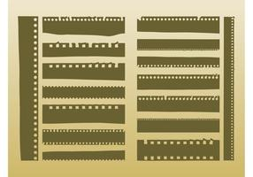 Vector Film Strips
