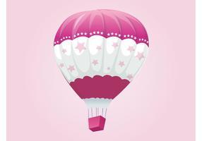 Vector Heißluftballon