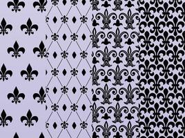 Fleur De Lis Patterns