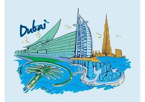 Dubai vektor