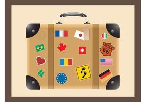 Travel Suitcase Vector
