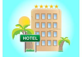 Exotic Hotel Vector