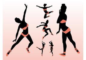 Bailarinas Vector Sexy